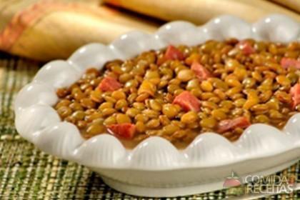 Foto da receita Ano Novo de lentilha.