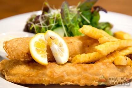 Receita de Filés de peixe à milanesa - Comida e Receitas