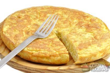 Receita de Omelete simples - Comida e Receitas