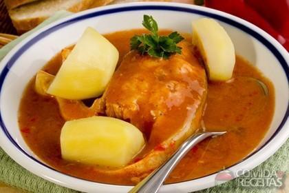 Receita de Peixe ao molho - Comida e Receitas