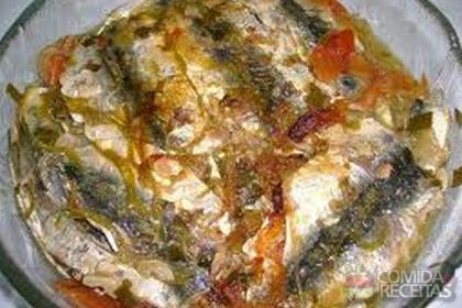 Molho de escabeche para sardinhas