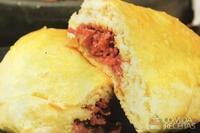 Calzone de calabresa e queijo