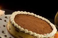 Cheesecake de tiramissu com catupiry
