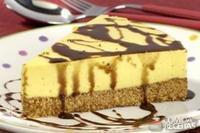Torta mousse de manga com chocolate