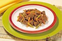 Cozido de carne com cenoura