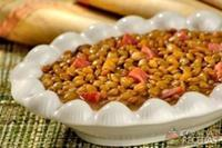 Cozido de lentilha