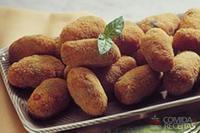 Croquete de azeitonas