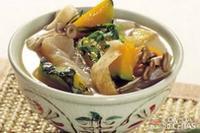 Missô shiru com vegetais