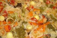 Paella de frutos do mar da Bete