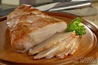 Picanha suína de forno