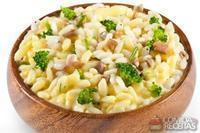 Risoto de brócolis