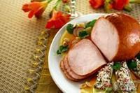 Tender chester com salada de endívia