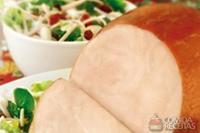 Tender chester com salada refrescante