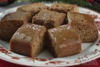 Bolo pão de mel natalino