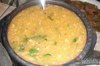 Pirão de peixe tradicional