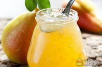 Geléia de pera com limão