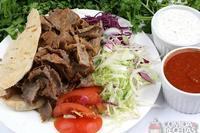 Kebab picante de cordeiro