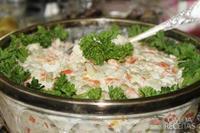Maionese tradicional de legumes