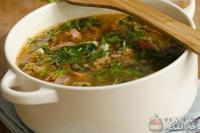 Sopa de lentilha picante