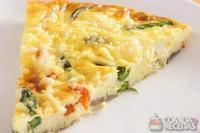 Torta leve de legumes