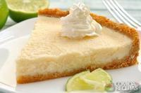 Torta de limão com recheio cremoso
