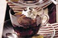 Gelado de chocolate com café