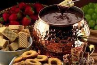 Fondue de chocolate e café