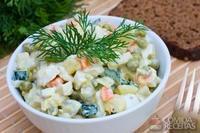 Maionese de iogurte e legumes