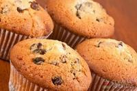Muffins com iogurte e chocolate