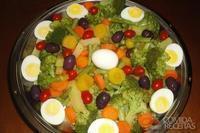 Saladinha colorida de legumes