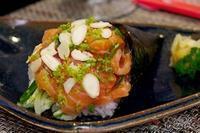 Temaki de salmão especial