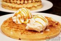 Waffle doce light