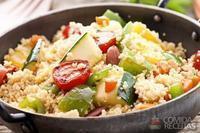 Couscous com legumes