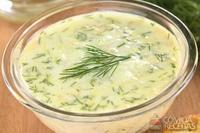 Molho de iogurte com ervas