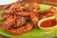 Asinhas de frango picante