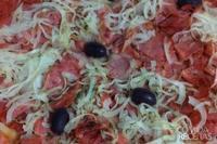 Cobertura de calabresa para pizza