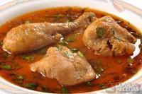 Coxas de frango ao molho