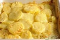 Batata gratinada roquefort