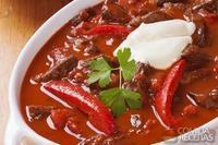 Carne com chili