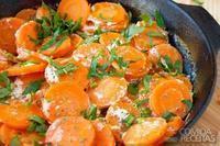 Cenouras refogadas