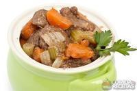 Ensopado de carne e cenoura