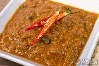 Keema curry (ensopado de carne moída)