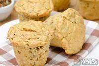 Muffin de batata e queijo