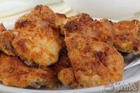 Sobrecoxa de frango crocante