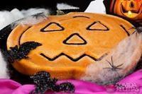 Tarte de abóbora de Halloween