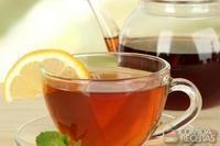 Chá de hortelã com camomila