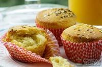 Muffin de bacalhau