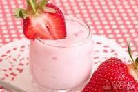 Vitamina de iogurte com frutas