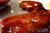 Asinha de frango com molho agridoce