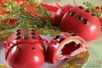 Ovo de páscoa joaninha